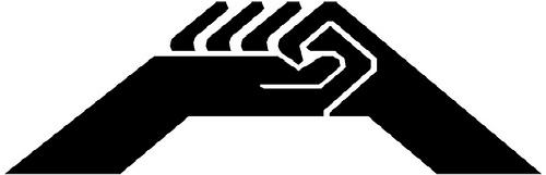 logo CGT manos negro 2