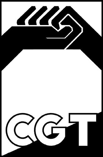 Logotipo CGT (en blanco y negro 1)