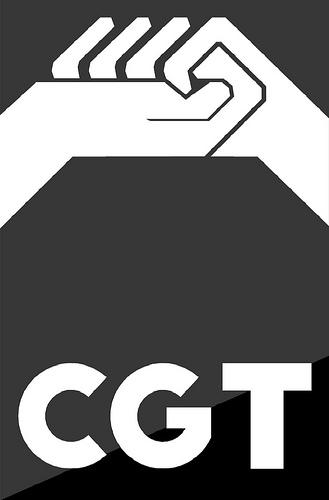 Logotipo CGT (en escala de grises 2)
