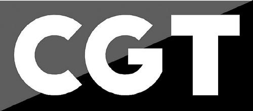 Logotipo CGT letras (escala de grises 1)