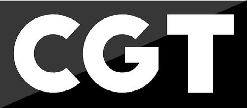 Logotipo CGT letras (en escala de grises 2)