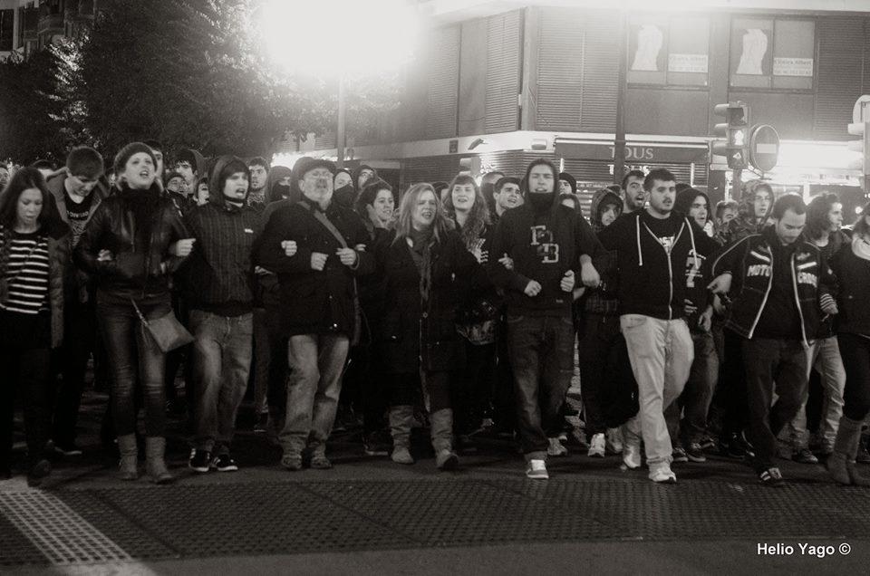 Foto de la Protesta en Valencia