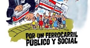 CGT es mobilitza contra la licitació i privatització de les línies de tren de València, Castelló i Alacant