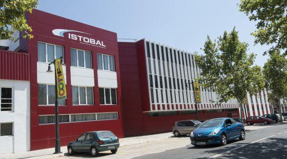 Sede de la multinacional valenciana Istobal, radicada en L'Alcúdia. / JOSÉ JORDÁN