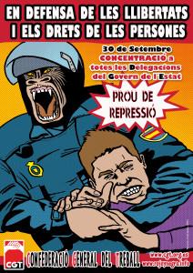 Cartel Represion_0