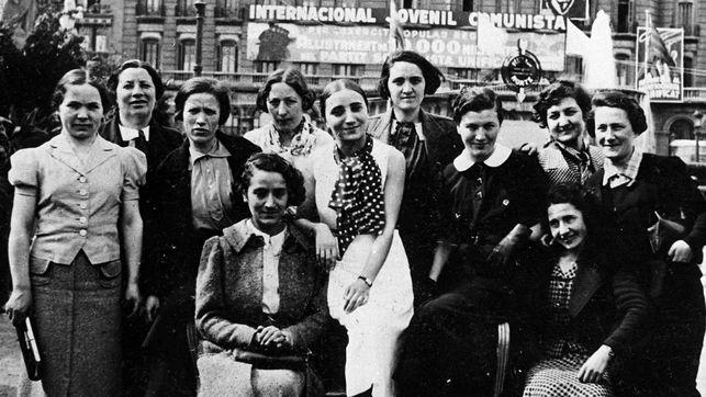 El colectivo de mujeres, tras regresar a Bélgica, sufrieron la dureza de los campos de concentración