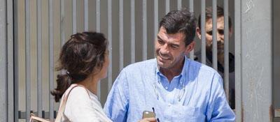 Espinosa, al salir del juzgado tras ser detenido en 2014.